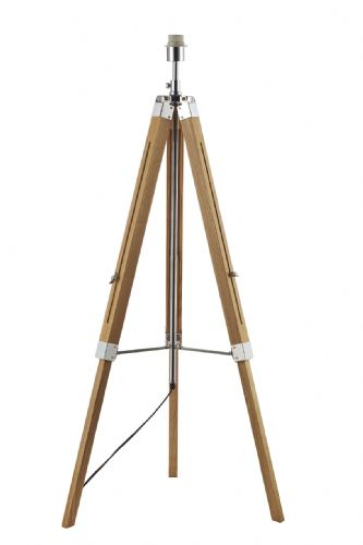 Dar Easel Tripod Floor Lamp Base Only EAS4943 (Class 2 Double Insulated)
